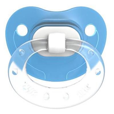 NUK Translucent 2pk Baby Pacifier - Blue