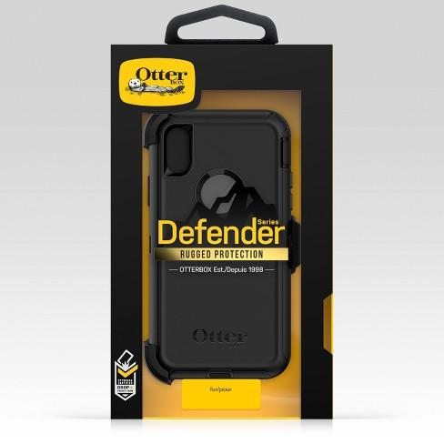 pretty nice 43a4c c077c OtterBox Apple iPhone X/XS Defender Case - Black