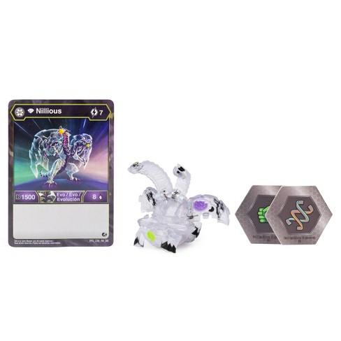 "Bakugan Diamond Nillious 2"" Collectible Action Figure and Trading Card - image 1 of 4"