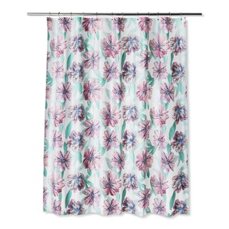 Floral Shower Curtain Paradise Pink - Room Essentials™