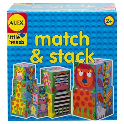 ALEX Toys Little Hands Match and Stack