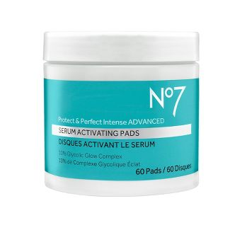 No7 Protect & Perfect Intense Advanced Serum Activating Pads - 60ct