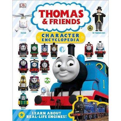 Thomas & Friends Character Encyclopedia (Library Edition) - (Hardcover)