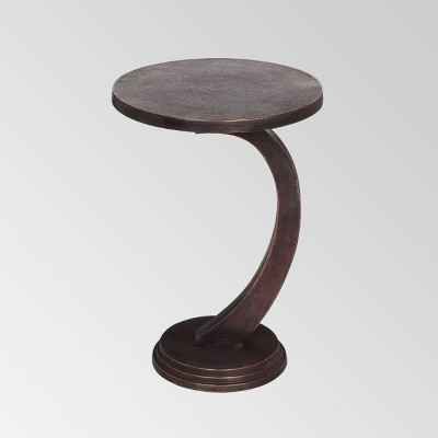 Fenton Modern Accent Table Bronze - Christopher Knight Home