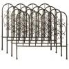 Montebello Outdoor Decorative Garden Fence, Set Of 4 Iron Fencing - Plow & Hearth - image 3 of 3