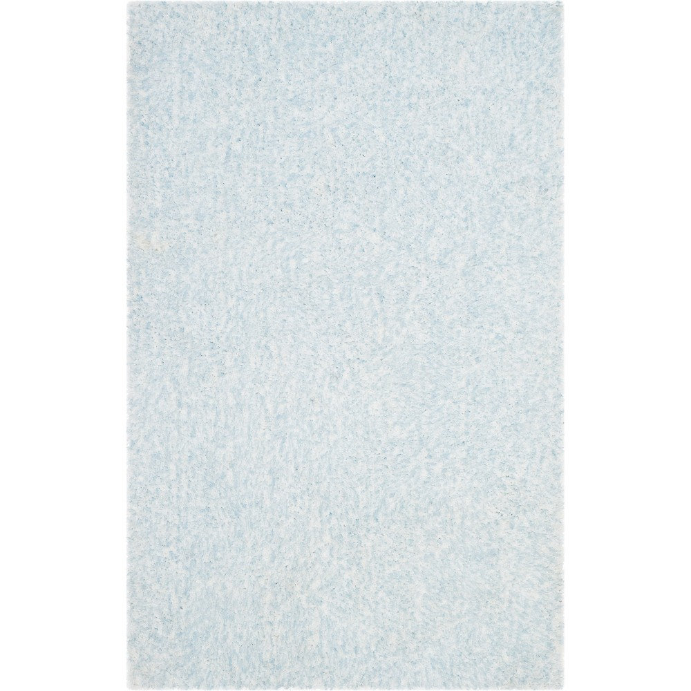 3X5 Solid Tufted Accent Rug Ivory/Blue - Safavieh Compare