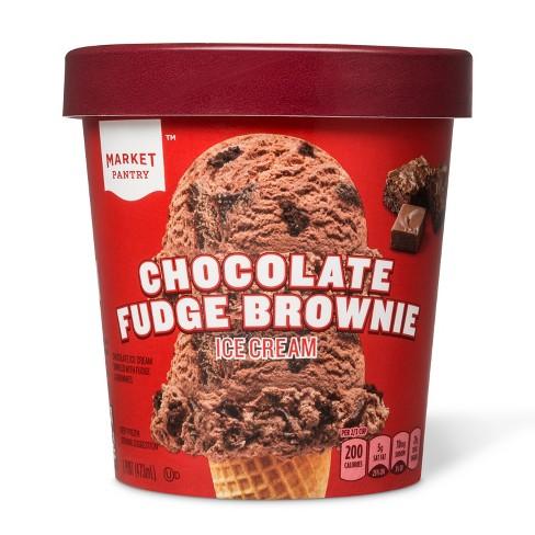 Chocolate Fudge Brownie Ice Cream - 16oz - Market Pantry™ - image 1 of 1