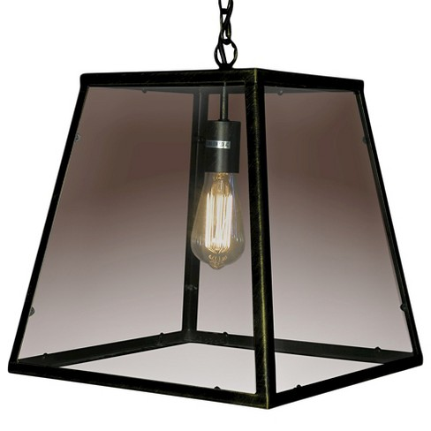 Warehouse Of Tiffany 16 X 16 X 16 Inch Black Ceiling Lights - image 1 of 1