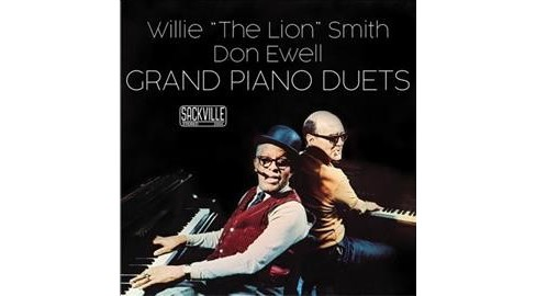 "Willie ""the L Smith - Grand Piano Duets (CD) - image 1 of 1"