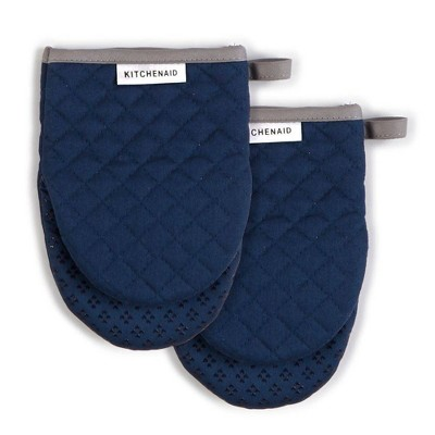 "KitchenAid 2pk 5.5""X8"" Asteroid Mini Mitts Navy"