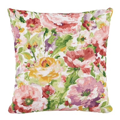 Outdoor Throw Pillow Lessandra Rosewood  Furniture Mfg - Skyline Furniture