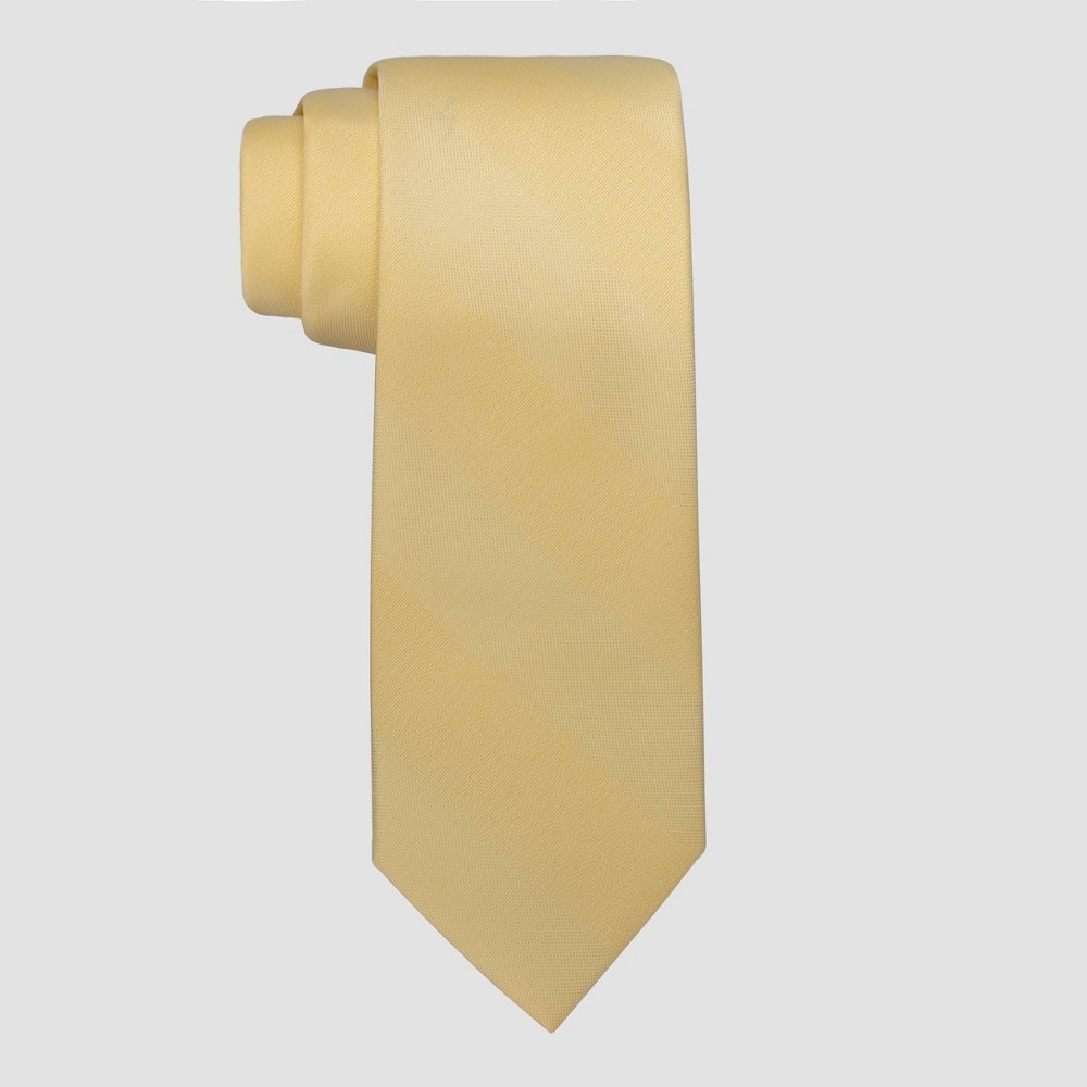 Men 39 S Edison Solid Calm Tie Goodfellow 38 Co 8482 Yellow One Size