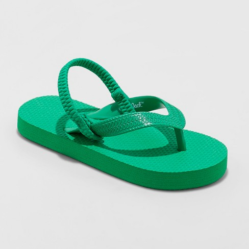 Toddler Boys' Lance Flip Flop Sandals - Cat & Jack™ Green - image 1 of 3