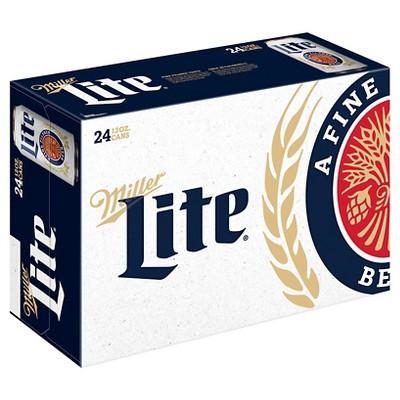 Miller Lite® Beer - 24pk / 12oz Cans
