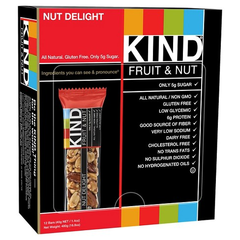 Kind® Nut Delight Nutrition Bars 12 ct - image 1 of 1