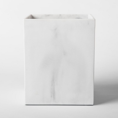 Bathroom Wastebasket Marble - Project 62™