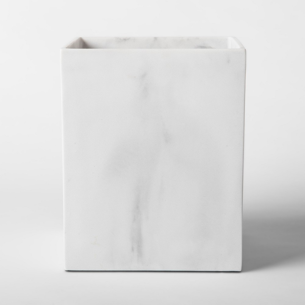 Bathroom Wastebasket Marble - Project 62