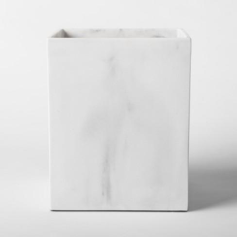Resin Bathroom Wastebasket White Project 62 Target