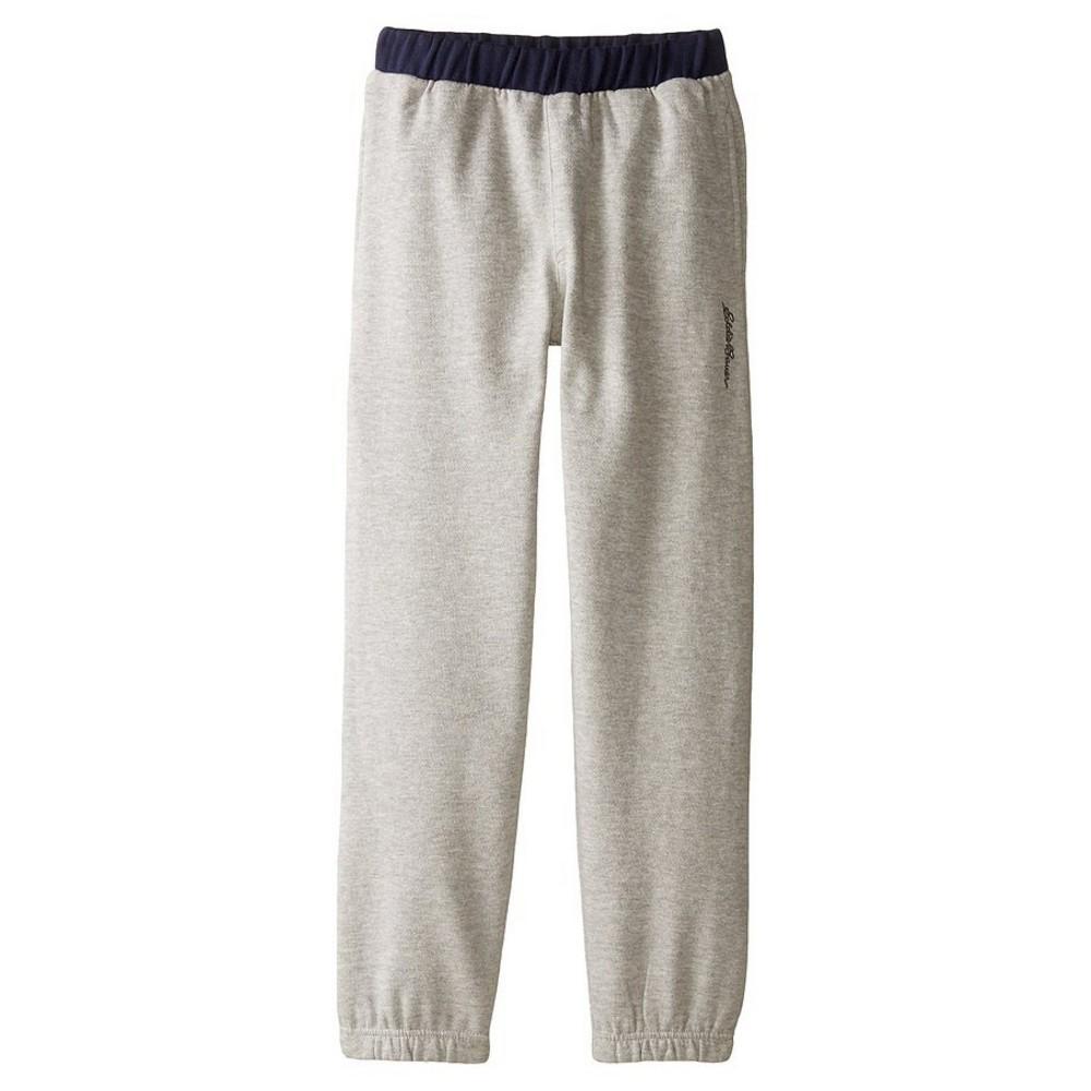 Eddie Bauer Boys' Fleece Pull On Pants 10-12 - Gray