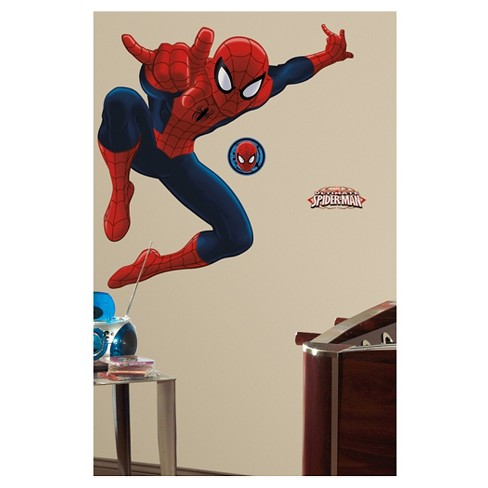 RoomMates Spider-Man - Ultimate Spider-Man Peel & Stick Giant Wall Decal - image 1 of 4