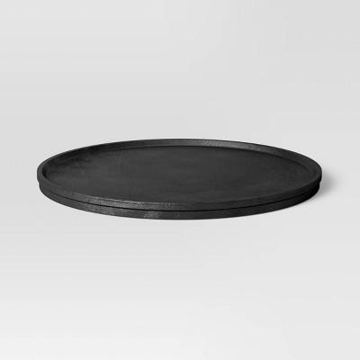 Cast Metal Round Tray - Threshold™