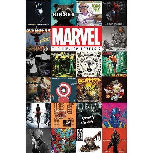 Marvel: The Hip-Hop Covers Vol. 2 - (Hardcover) - image 1 of 1