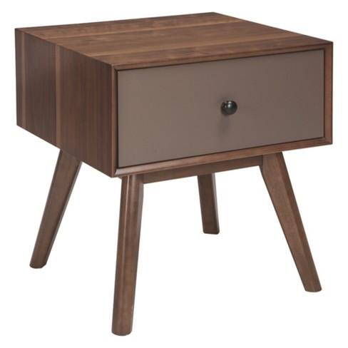 Lynnifer Rectangular End Table Dark Brown - Signature Design by Ashley - image 1 of 4