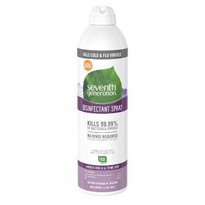 Seventh Generation Lavender Vanilla & Thyme Disinfectant Spray - 13.9oz