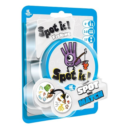 Asmodee Spot it: Fishing Card Game image number null