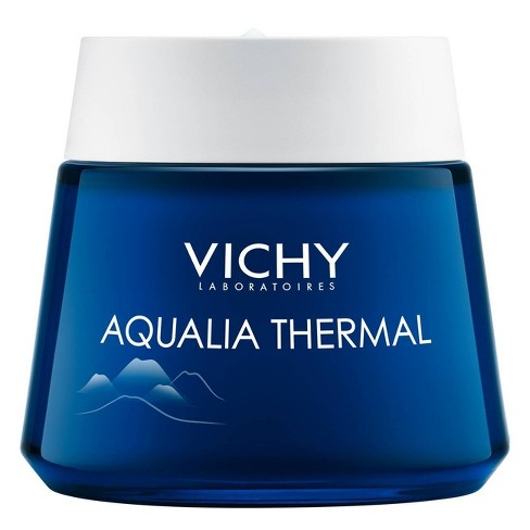 Vichy Aqualia Thermal Night Spa Anti Fatigue Night Cream and Face Mask with Hyaluronic Acid - 2.54oz - image 1 of 4