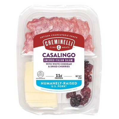 Creminelli Sliced Casalingo & Cheddar with Cherries - 2oz