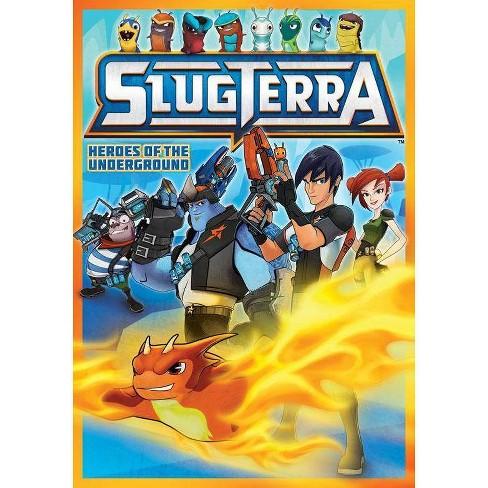 Slugterra Heroes Of The Underground Dvd