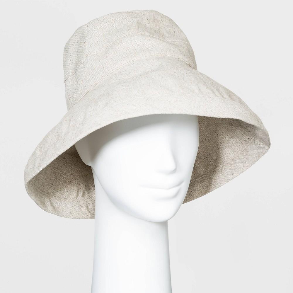 Hippie Hats,  70s Hats Women39 Bucket Hat - A New Day8482 Tan $16.99 AT vintagedancer.com