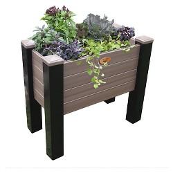 Maintenance Free Elevated Rectangular Garden Bed - Gronomics