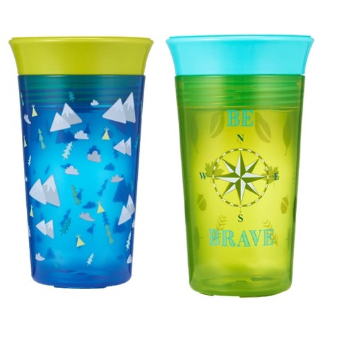 The First Years Simply Spoutless Cup 2pk - Blue - image 1 of 4