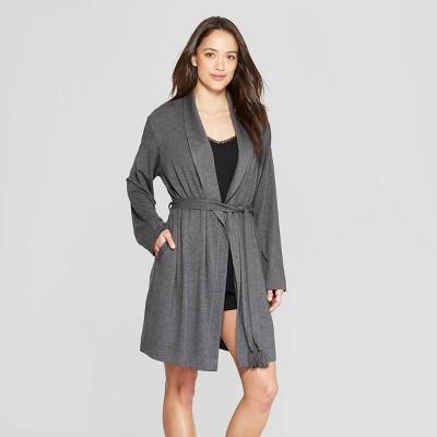 Women's Beautifully Soft Robe - Stars Above™ Gray XL/XXL