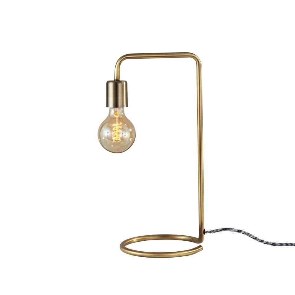 16.5 Morgan Desk Lamp Antique Brass - Adesso