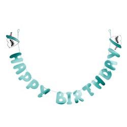 """Happy Birthday"" Shark Banner - Spritz™"