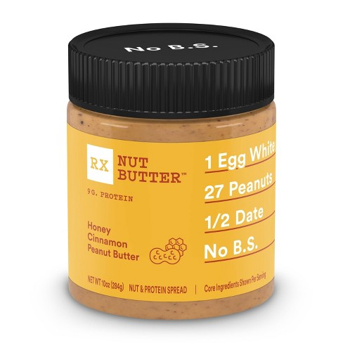 RX Nut Butter Honey Cinnamon Peanut Butter Spread - 10oz - image 1 of 4