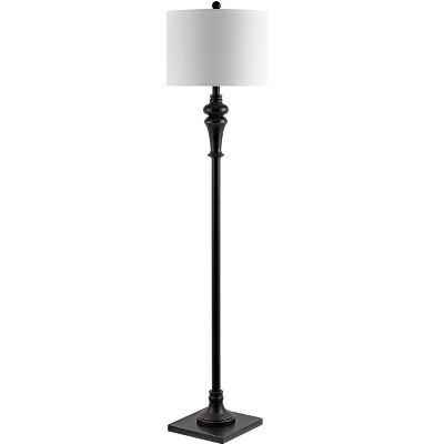 Norla Floor Lamp - Antique Black - Safavieh