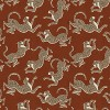 Blackout Curtain Leopard Run Burnt Orange 63L - Cloth & Co. - image 6 of 6
