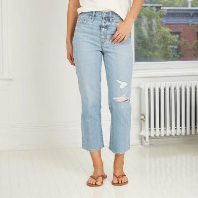 Women's High-Rise Vintage Straight Jeans - Universal Thread™