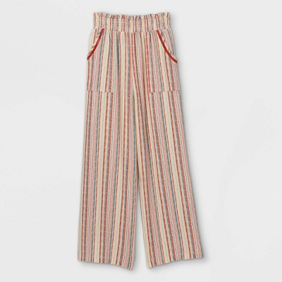 Girls' Smocked Wide Leg Pants - art class™