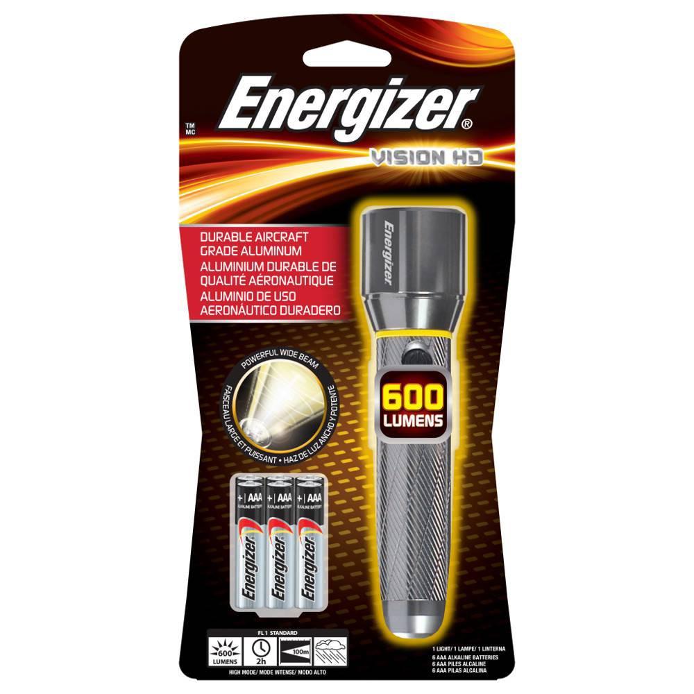 Energizer Metal (Grey) Handheld Led Light Metal