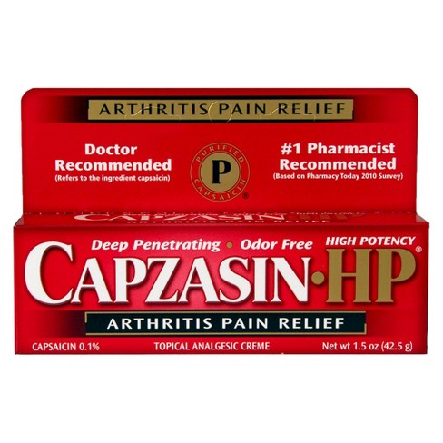 Capzasin-HP Arthritis Pain Relief Creme - 1.5oz - image 1 of 3