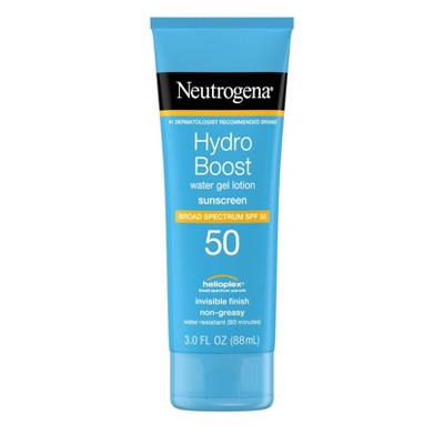 Sunscreen & Tanning: Neutrogena Hydro Boost