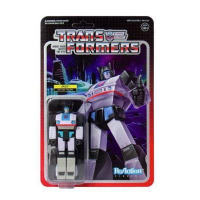 Super7 Transformers ReAction Figure - Jazz