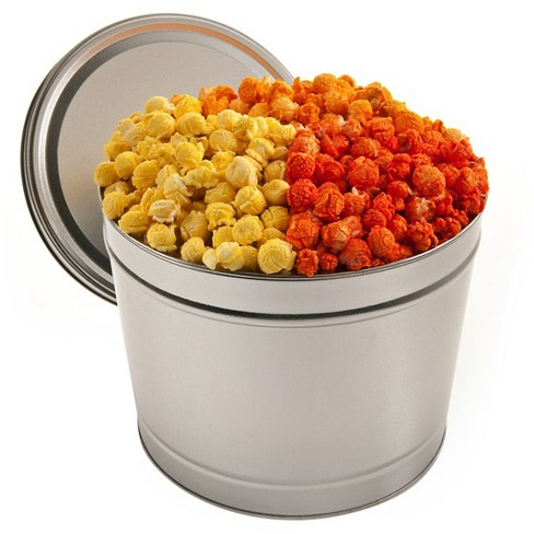 Butter and Cheddar Gourmet Popcorn Tin - 2gal - image 1 of 1
