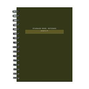 Undated Lined Journal Green - TF Publishing