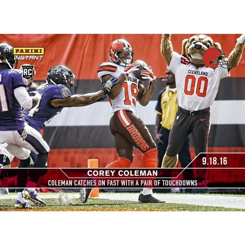 NFL Cleveland Browns Corey Coleman #34A 2016 Panini Instant Base Card - image 1 of 1